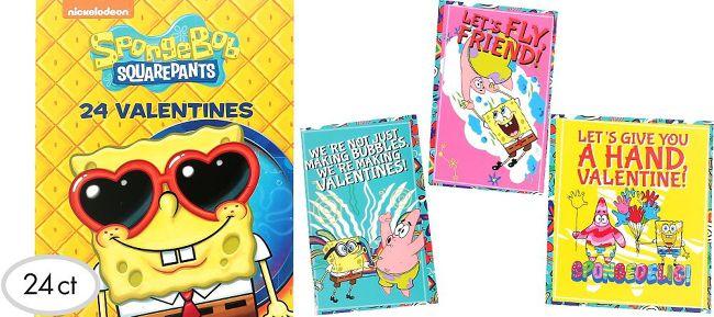 099 spongebob valentine exchange cards 24ct - Spongebob Valentine Cards