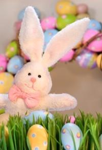 Enjoy healthy Easter baskets.