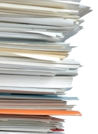 In our 'paperless society,' we can still get buried under the stuff.