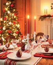 A decorative Christmas centerpiece can make your holiday table beautiful