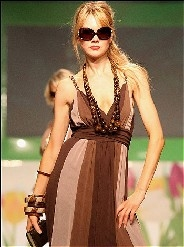 Fashion trends for summer 2009 are flirty, colorful, and sexy
