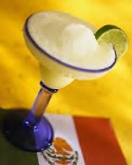 A margarita is a party in itself