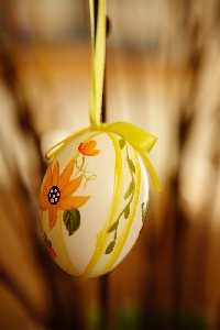 Get creative when you're decorating eggs for easter this year