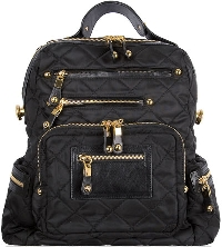 Look for pockets, lots of space and durable fabric in a new diaper bag