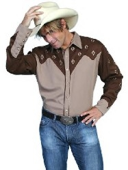 Today's country styles are clothing styles with a Wild West attitude