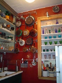 Kitchen organization tips: featuring everything but the kitchen sink!