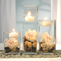 Try to find fresh ideas for your wedding table accessories
