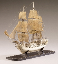 Meeting the challenge of constructing a model ship