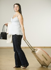 Wondering about the safety of traveling during pregnancy?