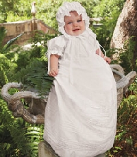 A few simple tips to keep fabrics safe when storing heirloom baby clothes