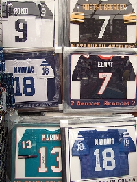 Learn how to successfully and affordably collect sports gear and memorabilia