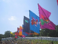 Tips for displaying outdoor national and decorative flags