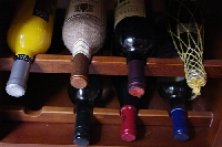 Designing a storage unit for wine in small spaces