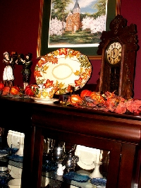 Simple harvest decorating tips for your home bring the feel of autumn indoors.