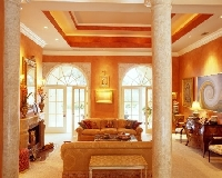 Skilled interior decorators can add beauty, continuity and function to any space