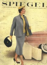 Catalog apparel first appeared in Spiegel in 1912, new territory for the company