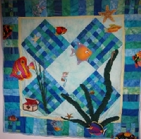Quilting fabric shops offer several opportunities for new project ideas
