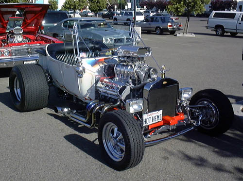 The hot rodder modified the Ford Model T and created a classic