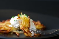 For Hanukkah, potato latkes are a tradition, whether you like them sweet or sour