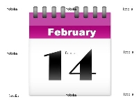 You know when Valentine's Day is, now just don't forget it!