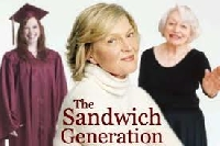 The sandwich generation consists primarily of post-middle aged women