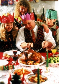 Certain foods are served at the traditional Christmas dinner
