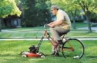 The best way to cut grass is more than just the right way to mow the lawn