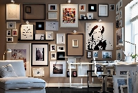 Selecting art by size for the dimensions and layout of your room