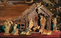 Learn how to set up a manger to rejoice in the birth of baby Jesus at Christmas