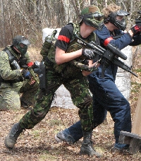 Win at paintball by knowing how to prepare, plan and protect your team