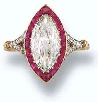Deciding what stones to use with diamonds is primarily a matter of taste