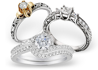 An affordable engagement ring fits your love ... and your budget