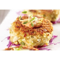 Find out what crabcakes are and how to serve them at any meal