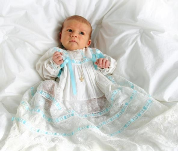 The details when dressing baby for a christening are what make this special day