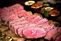 What is restaurant quality meat and how does it compare to the grocery butcher