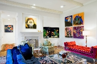 Decorating with pop art makes rooms bright, bold and fun