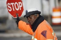 Learning safety rules for student crossing guards is an important training step