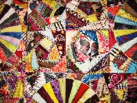 Choosing great fabrics for quilting depends on design, texture and color palette