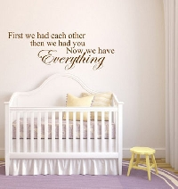 DIY nursery ideas without painting are easy and pretty!