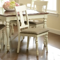 Choosing dining room table chairs is an important step in dining room decor