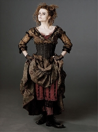 Wondering what is steampunk style then Helena Bonham Carter is your go-to person