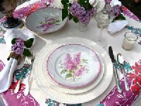 Learn how to mix and match plates and silverware for an eclectic tablescape