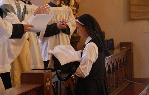 Deciding to become a nun is a path that combines inspiration with experience