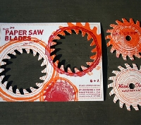 How is die cutting used in printing creatively
