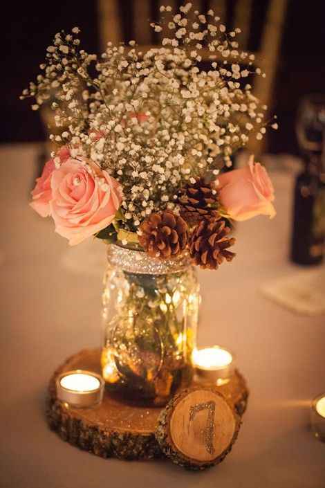 DIY wedding reception ideas don't mean cheap - pile on the lavish!