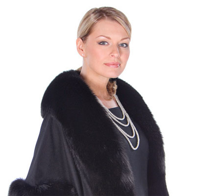 Here's how to wear a fur cape and make the perfect fashion statement