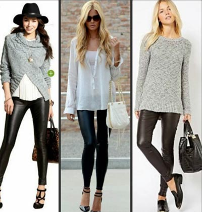 Fashion rules when wearing leggings with all your wardrobe separates