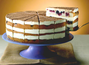 Knowing how to serve a designer cake requires special attention