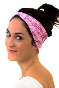 Head bands add fashion and practicality to busy lifestyles