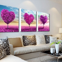 Decorate with triptychs -- art in three parts